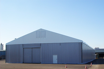 Vermietung von Industrie- & Gewerbehallen